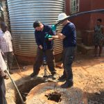 AGM working in Uganda